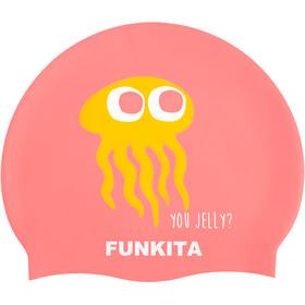 Funkita Silicone Bathing Cap Women pink